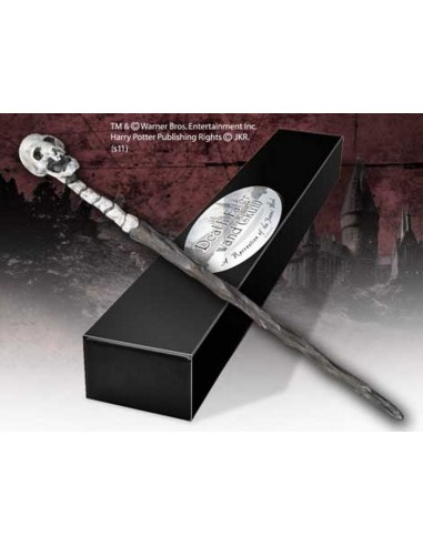 HARRY POTTER WAND DEATH EART SKULL 8221
