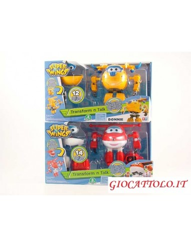 SUPER WINGS TRASFORMABILI PARLANTI