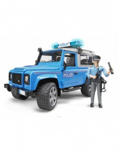 LAND ROVER DEFENDER ST. W. POLIZZIA