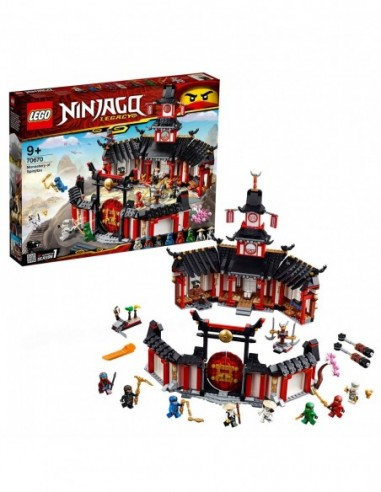 LEGO Il Monastero Spinjitzu V29 70670