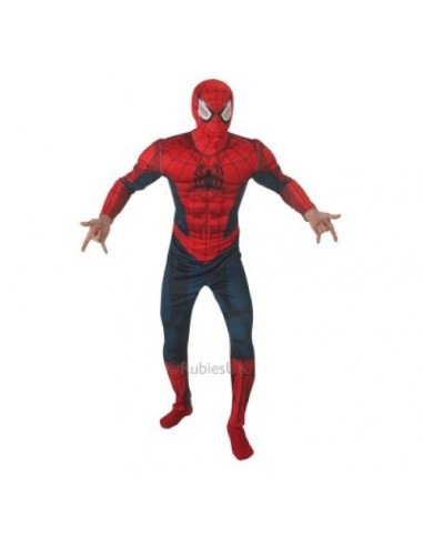 COSTUME SPIDEMAN C/MUSCOLI