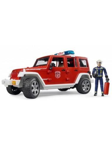 Jeep Wrangler Rubicon Pompieri, luci e s